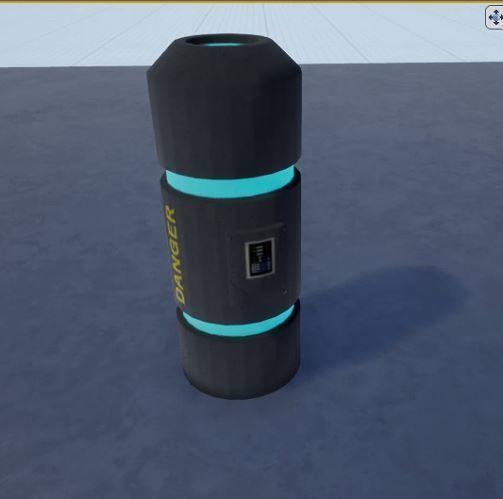 Sci-fi barrel