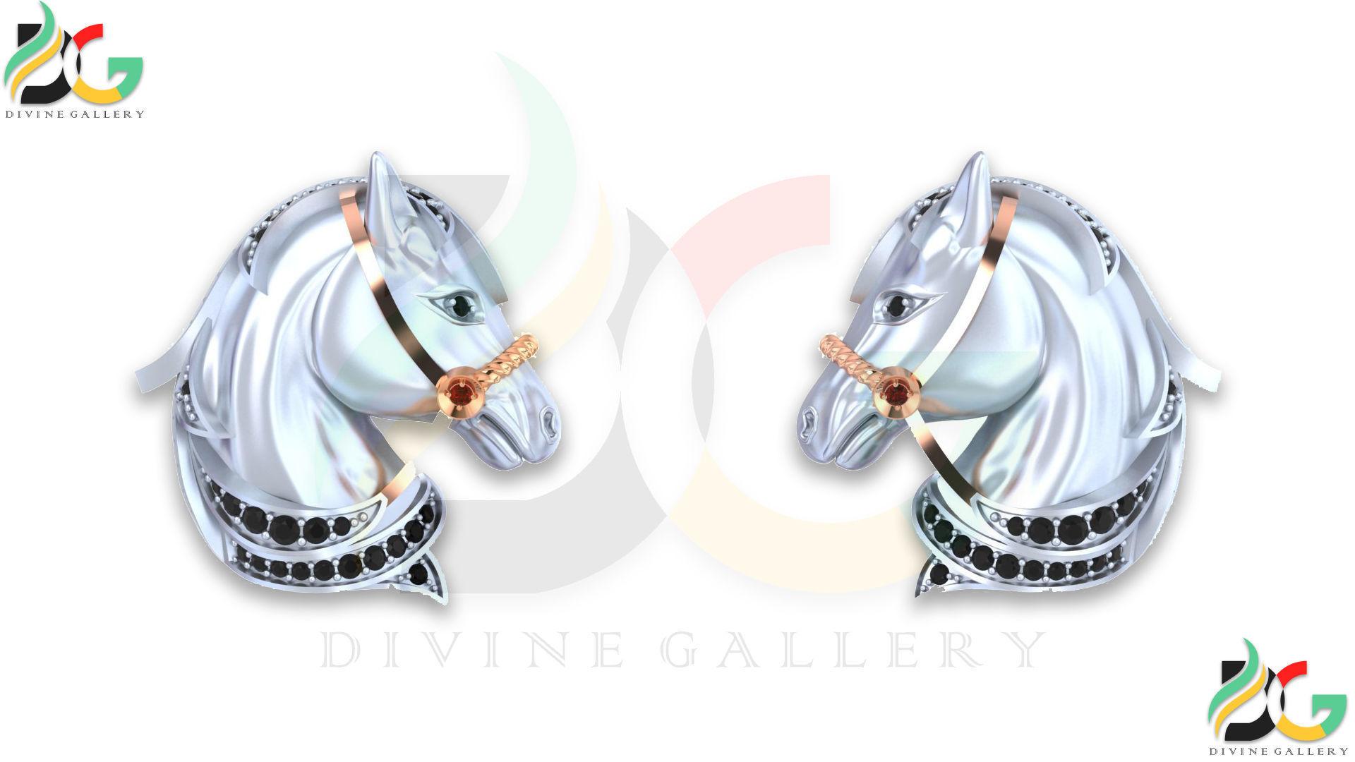 Horse Cufflink
