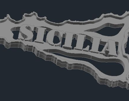 Regione Sicilia 3D printable model
