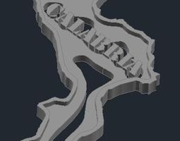 3D printable model Regione Calabria