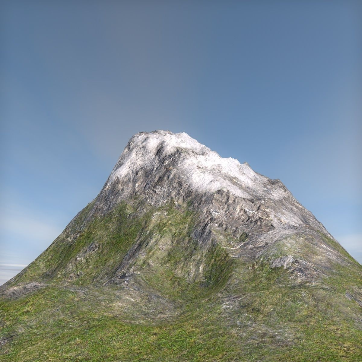 Terrain mountain | 3D model