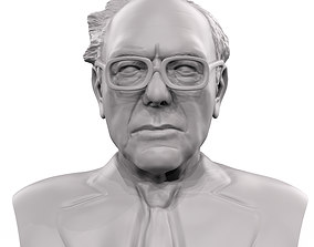 Bernie Sanders 3d model 3d printable sculpture
