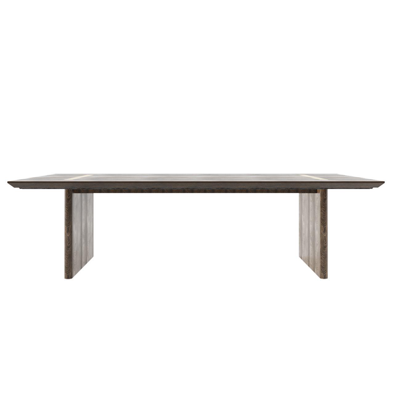 3d Model Rh Balmain Oak Rectangular Extension Dining Table