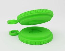 Couple Keychain 3D print model