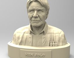3D printable model Han Solo