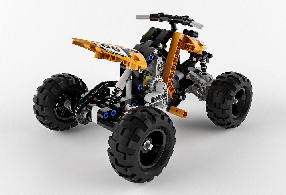 lego quad bike instructions