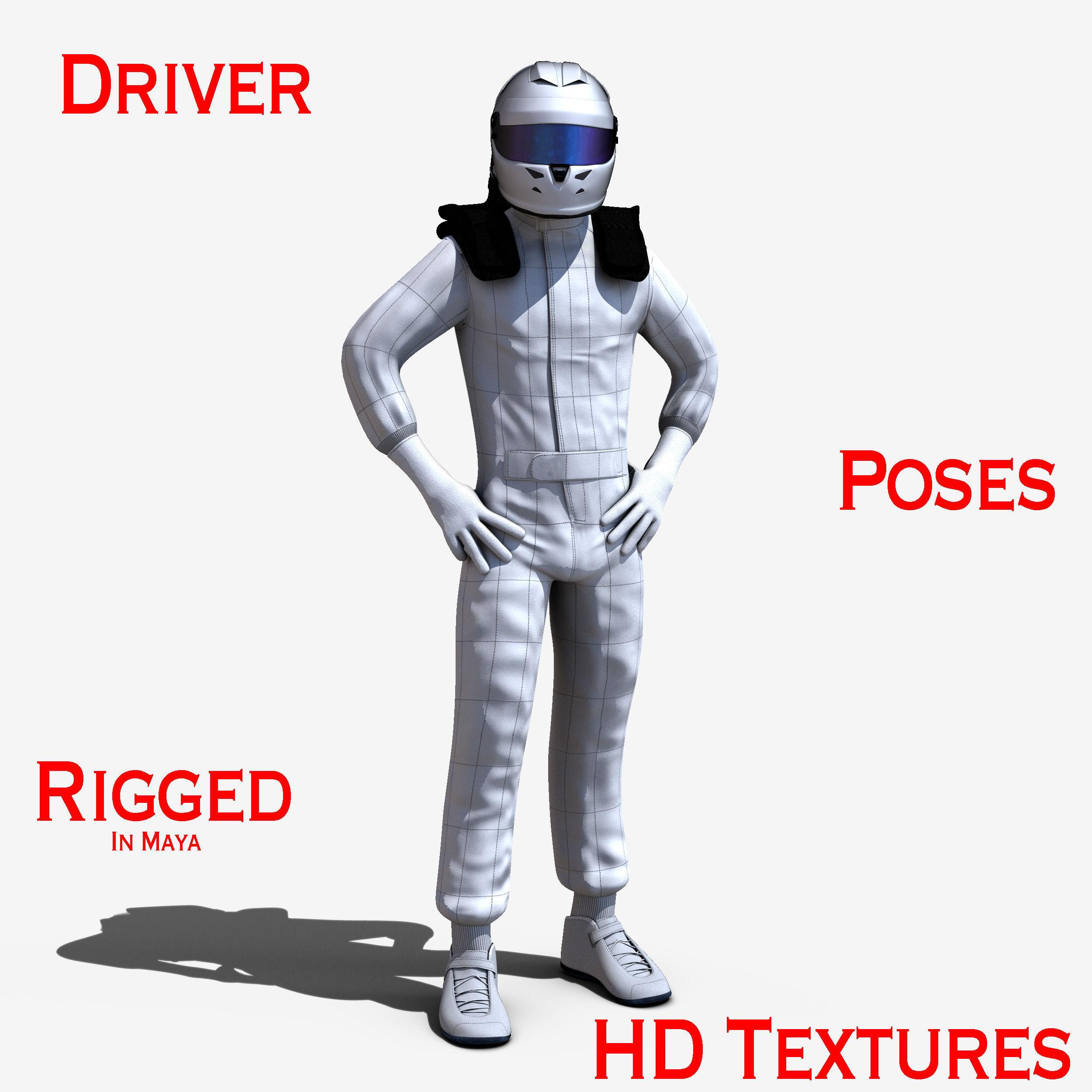 Driver | 3D model