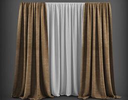 Curtain 3D model 18