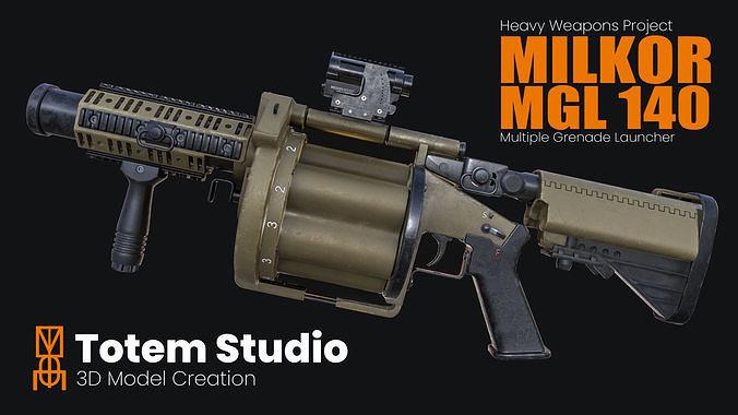 Milkor Multiple Grenade Launcher 140