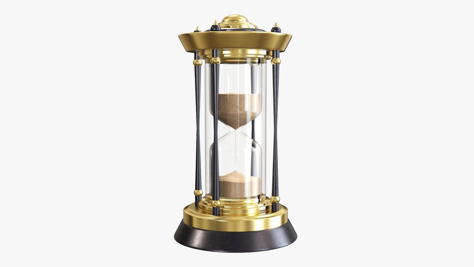 Hourglass sandglass egg sand timer clock 08