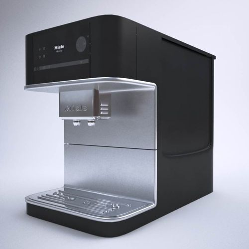 miele cm 6100 coffee machine 3d model cgtrader. Black Bedroom Furniture Sets. Home Design Ideas