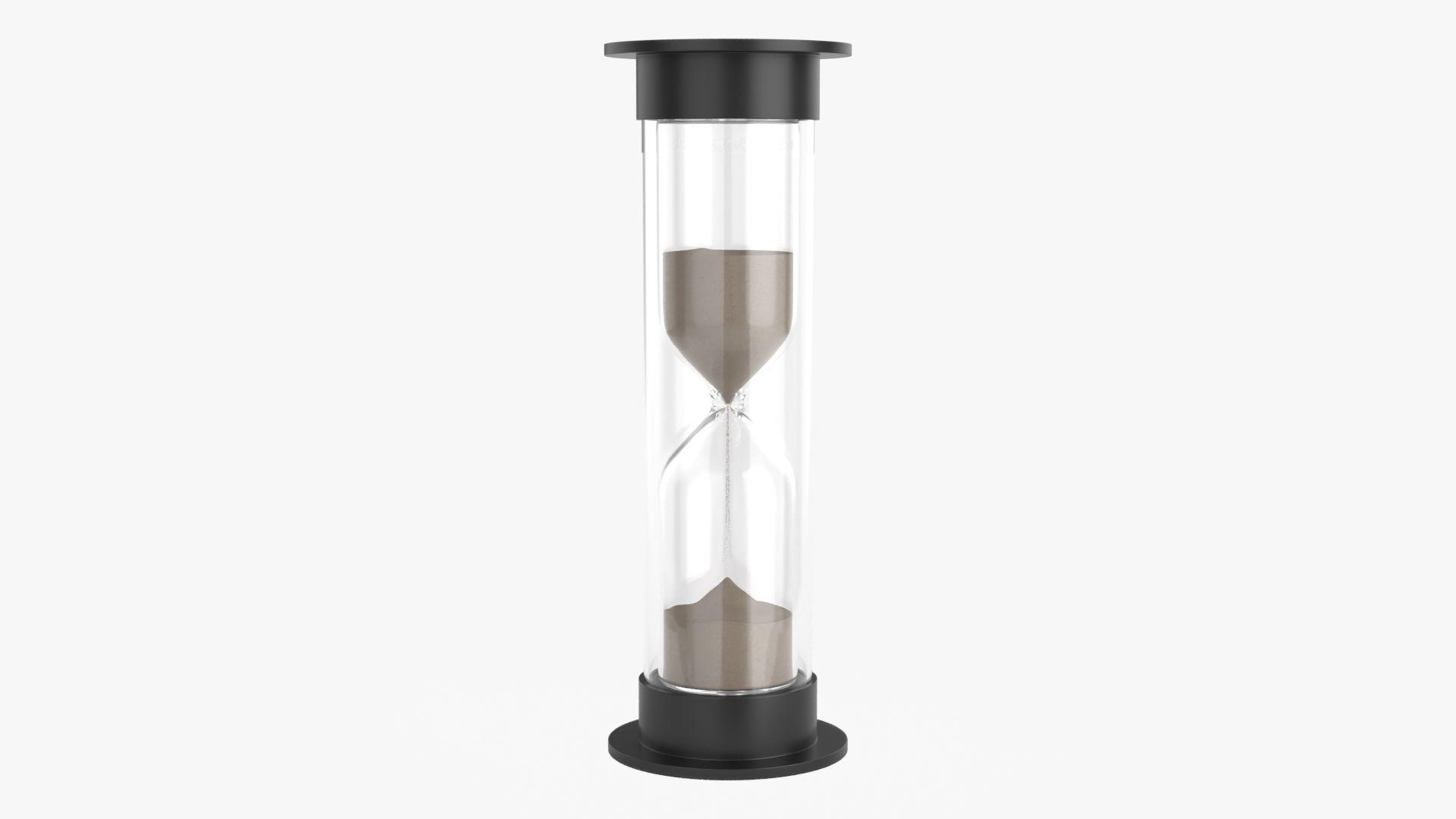 Hourglass sandglass egg sand timer cylindrical shape small