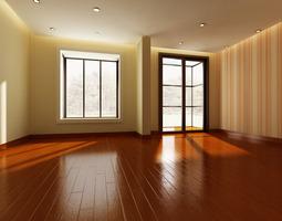 3D model Empty Room