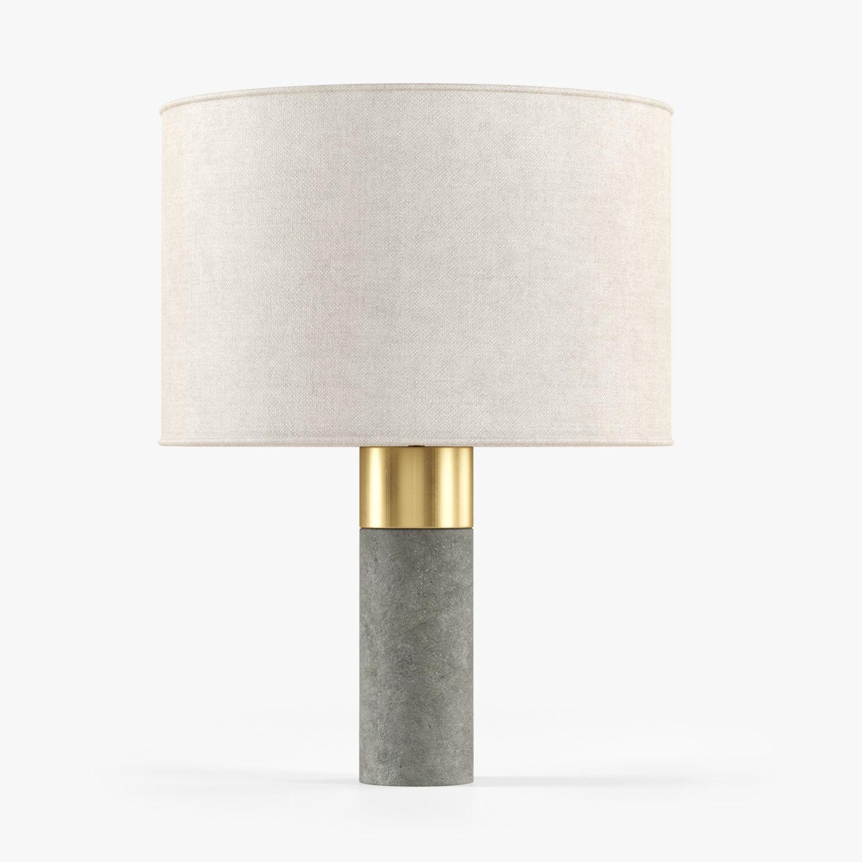 Bianco Cement Table Lamp -Lampara Sobremesa Cemento