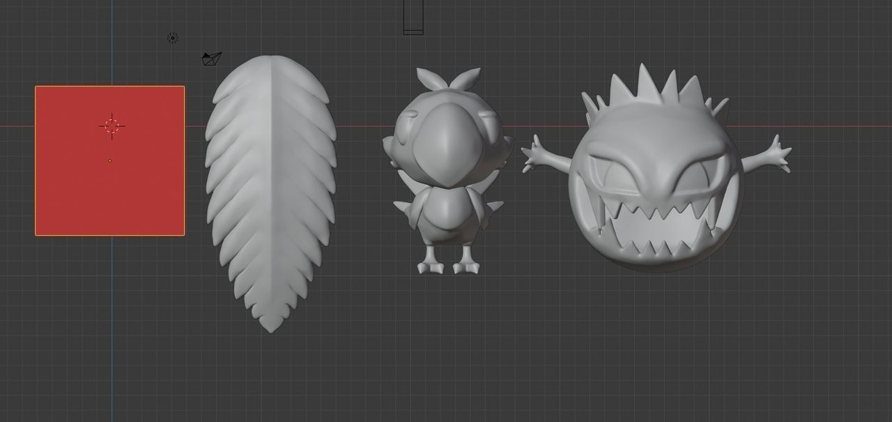 Tifa cosplay accesorie  charms  Boom Chocobo  stl for printing