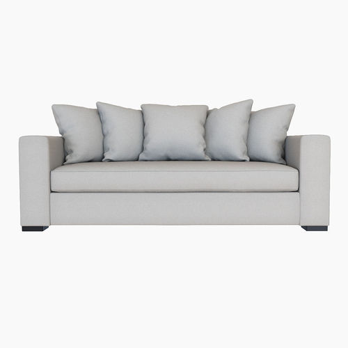 ... west elm walton sofa 3d model max obj fbx mtl 2 ...  sc 1 st  CGTrader.com : walton sectional - Sectionals, Sofas & Couches