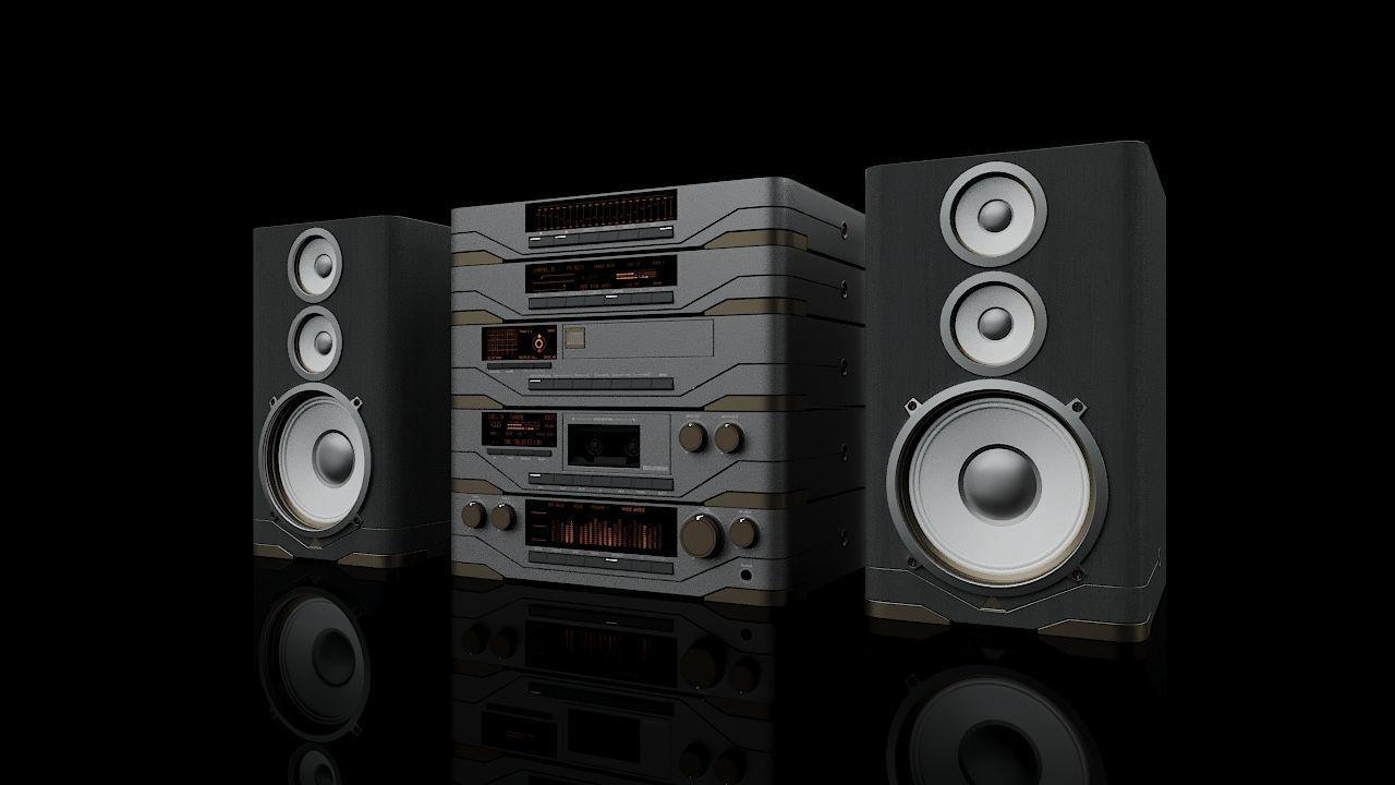 Hi-Fi multi component audio system