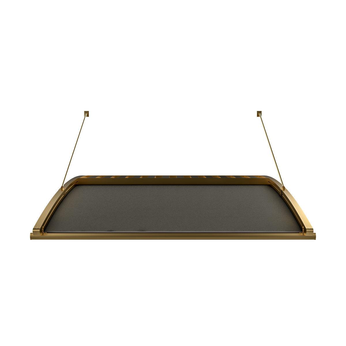 Motorized Pergola 6 brass furniture matte
