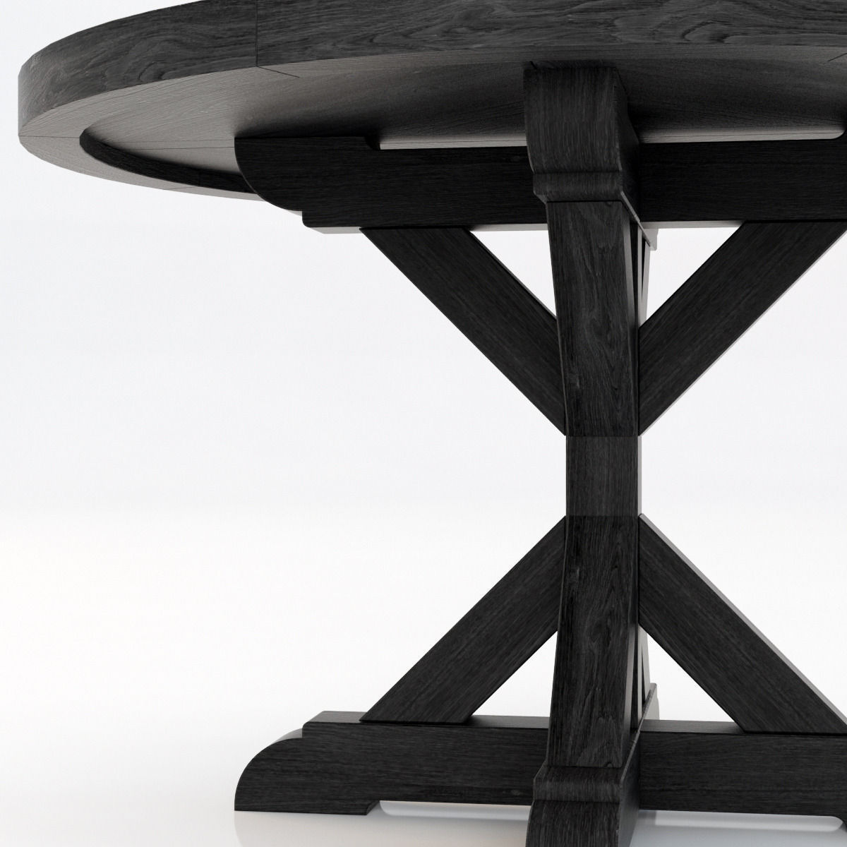 100 Restoration Hardware Dining Tables Oval Dining  : restoration hardware salvaged wood x base dining table 3d model max from lakemurrayhome.com size 1200 x 1200 jpeg 115kB