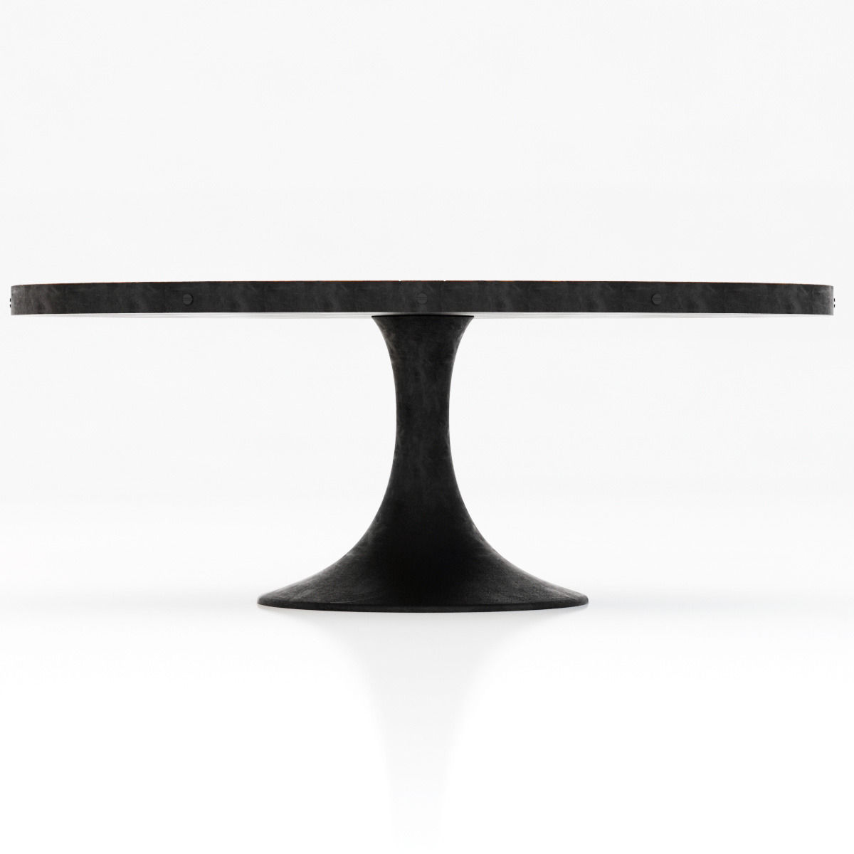 Restoration Hardware Aero Oval Dining Table 3D model MAX OBJ 3DS ...