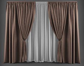 Curtain 3D model 17