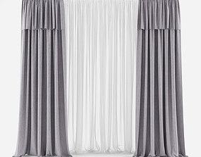 Curtain 3D model 20