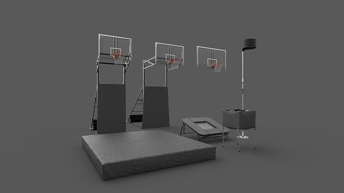 Acrobatic Basketball Props