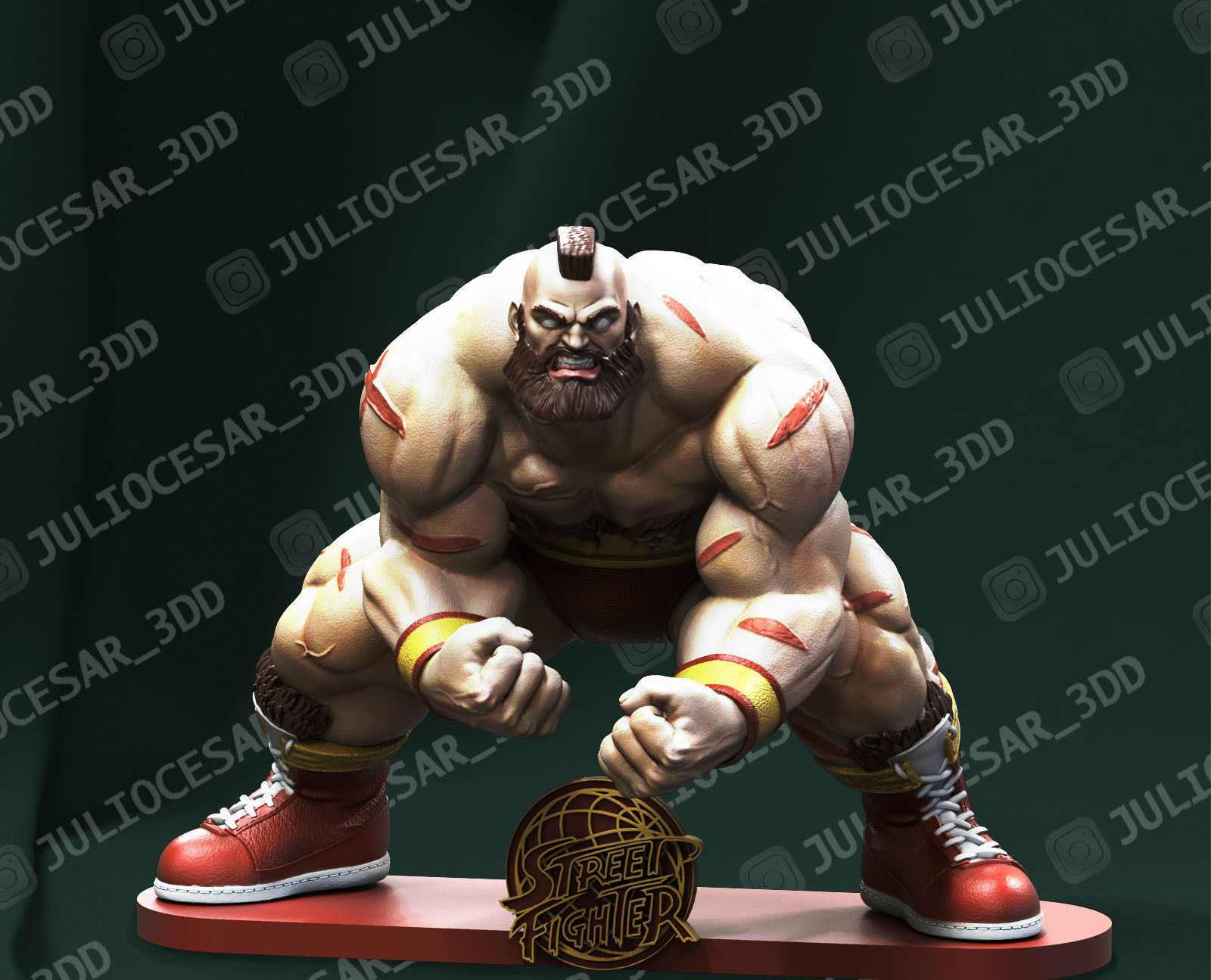 Street fighter - Zangief