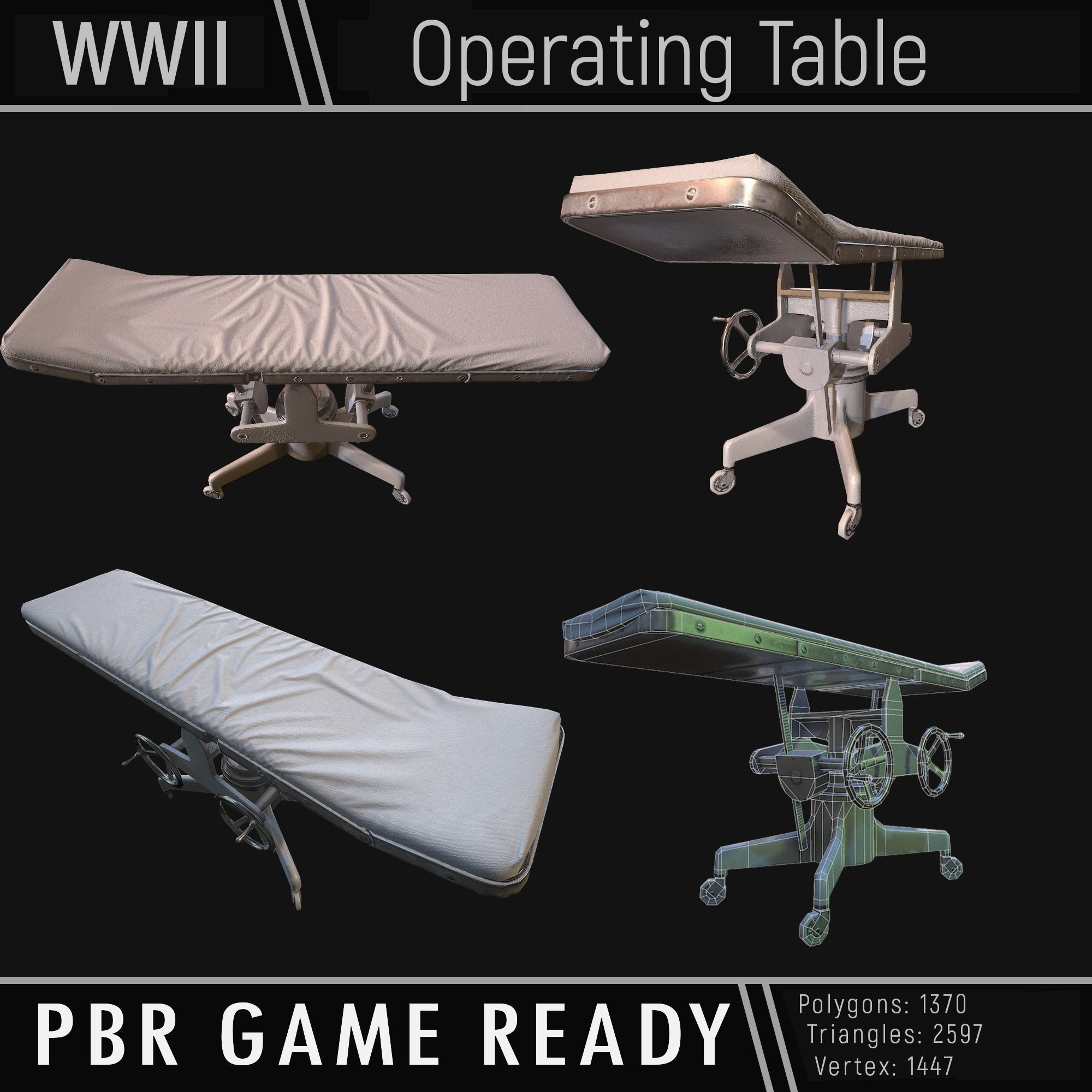 Operating Table WWII