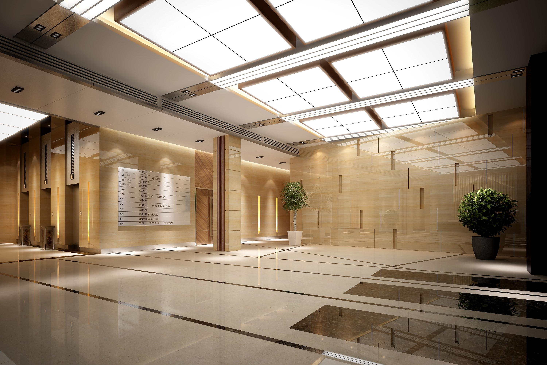 Hall Lobby 3d Model Max 2