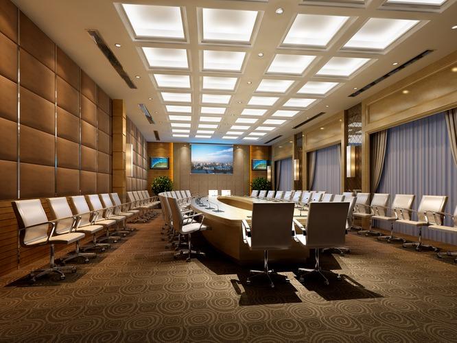 Conference Room 3d Model Max