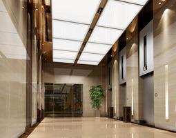 3D Corridor Hall 24610