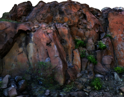 stone wall i 3d model