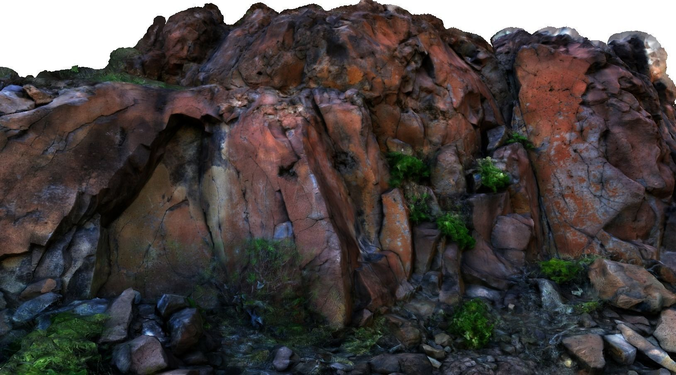 stone wall i 3d model obj 3ds mtl ply 1