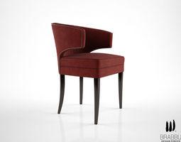 brabbu ibis dining chair 3d model