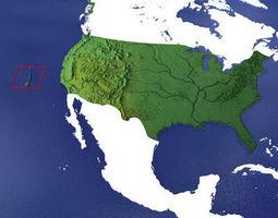 3D model USA