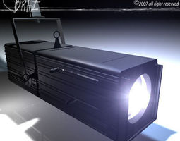 Stage light  Profile 3D Model