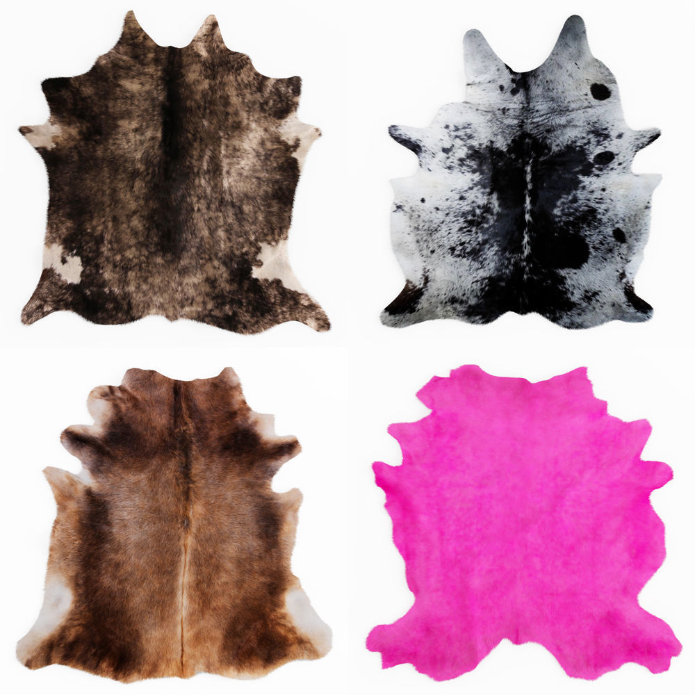 Four rugs from animal skins 07