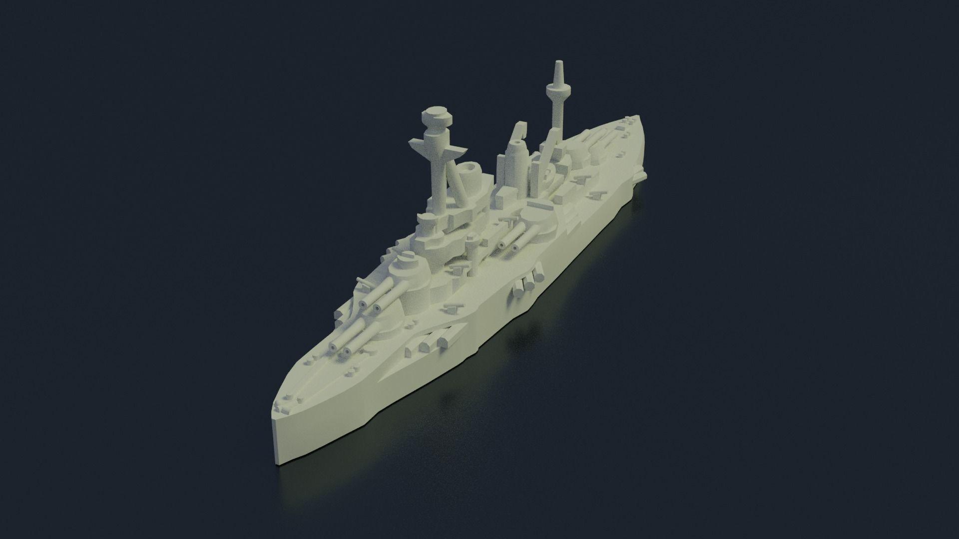 Battleship Coubert 1913