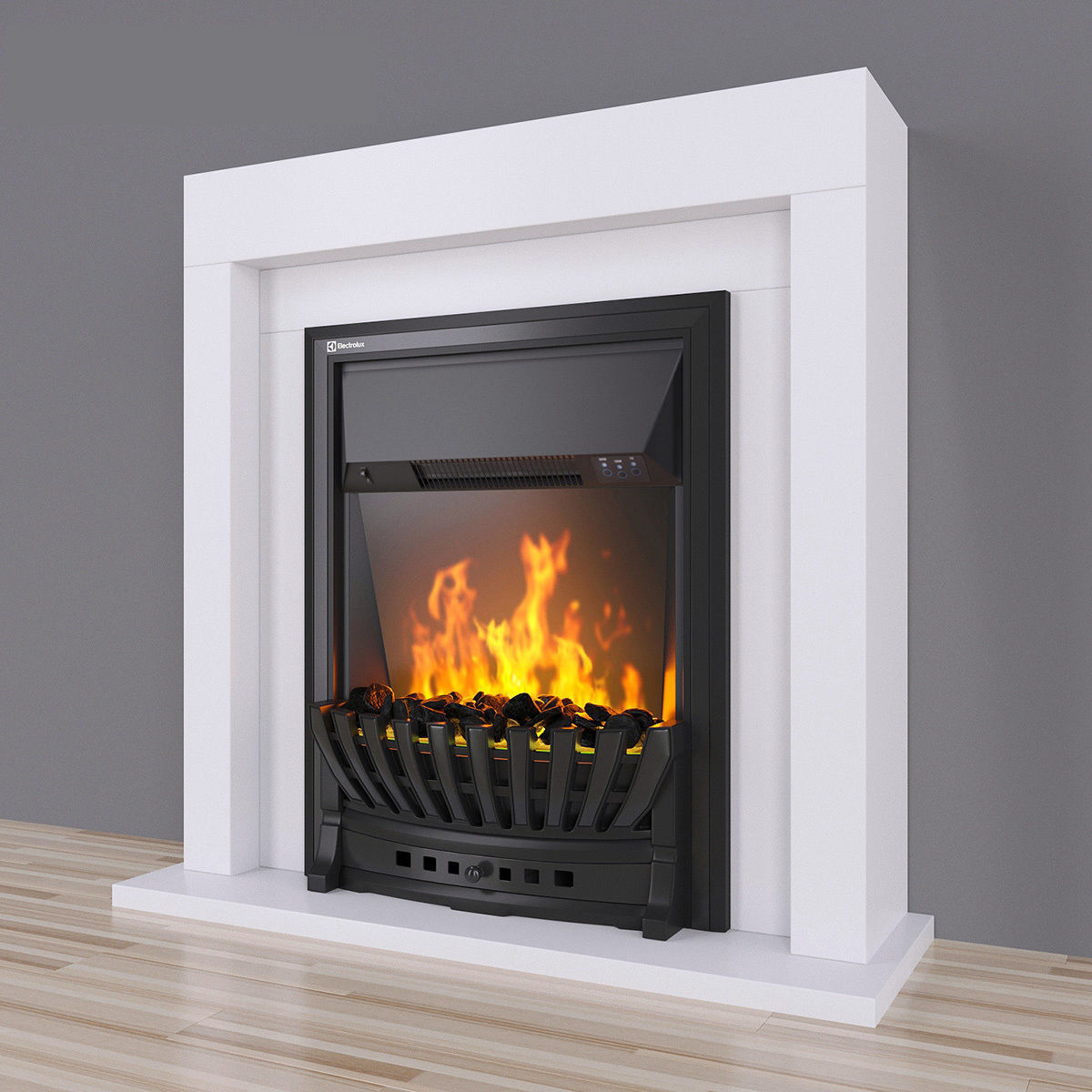 Electric fireplace EFP-S 4020WS white