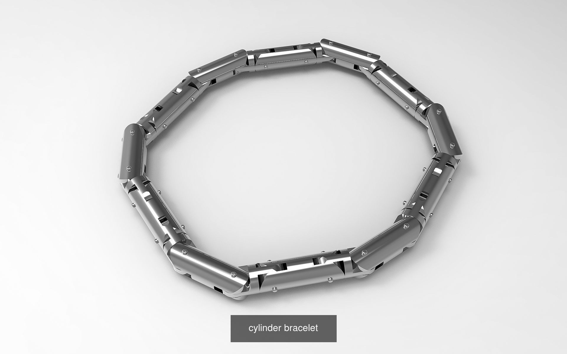 cylinder bracelet -curved and straight