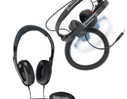 Sennheiser HD202 and HD25 3D Model