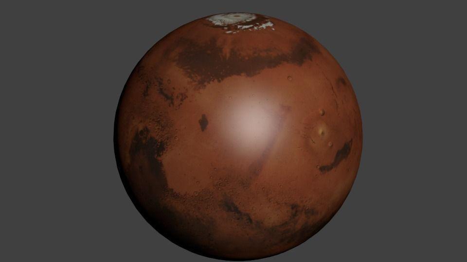 model of planet mars - photo #16