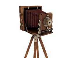 retro camera 3d