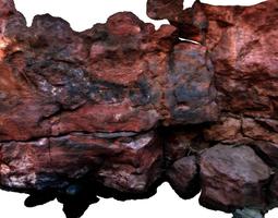 stone wall ii 3d model