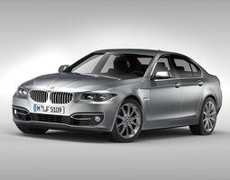 BMW 5 Series F10 2015 3D Model