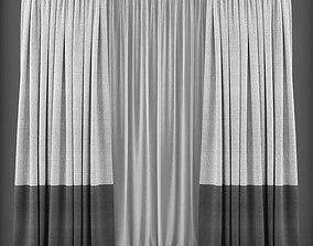 Curtain 3D model 124