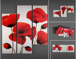 Collection triptychs 3dmodels