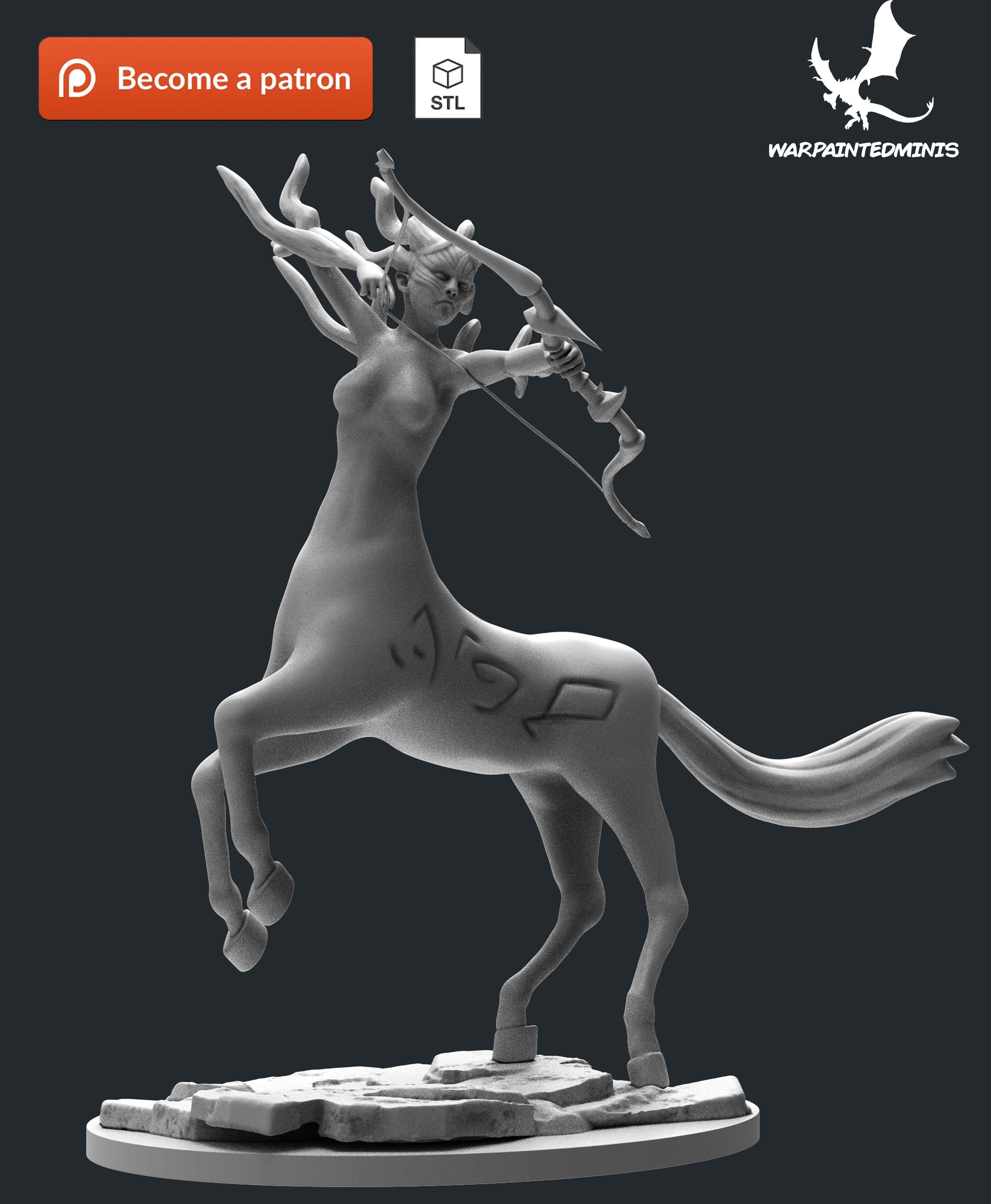 Centaur 3D Print Model STL