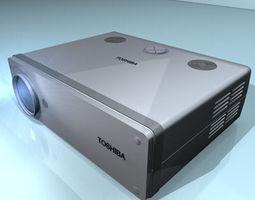 projector 01 3D Model